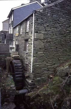 Melin Moelwyn at Tanygrisiau, Gwynedd, apparently now an architects' office?     http://www.geograph.org.uk/photo/927900