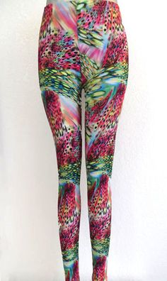 Jade Flying Crow Leggings