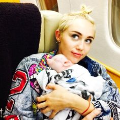 Congrats To Miley Cyrus On The Birth Of Her First Child  Miley Cyrus, Bubba Sue The Pig, Instagram