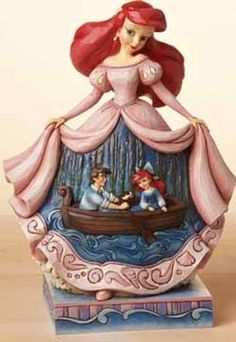 Jim Shore - Disney Traditions - Ariel = found this at Towne Peddler $60