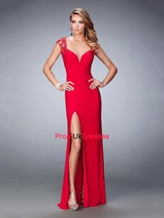 Shop La Femme evening gowns and prom dresses at Simply Dresses. Designer prom gowns, celebrity dresses, graduation and homecoming party dresses. Straps Prom Dresses, Prom Dresses 2016, Gala Dresses, Prom 2016, Red Evening Gowns, Designer Evening Dresses, Designer Wedding Dresses, Short Semi Formal Dresses, Formal Gowns