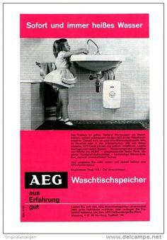 Original-Werbung/ Anzeige 1962 - AEG - ca. 160 x 230 mm