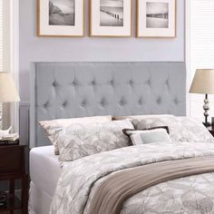 Modway Clique Queen Upholstered Headboard, Multiple Colors Image 6 of 6