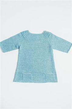 1501: Modell 3 Tunika #sisu #strikk #knit