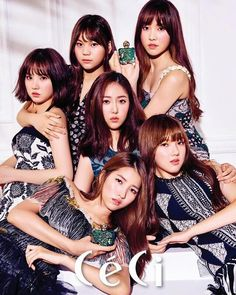 [PICS] #GFRIEND as the endorser For Olive Young's first perfume Anna Sui Romantica Perfume!