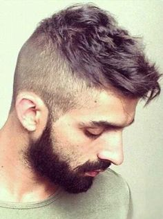 16.Shaved Hairstyle for Men