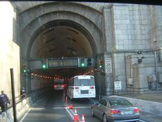 Entering Lincoln Tunnel