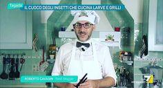 @masterbug_cucinare_insetti #la7 #diretta #tv #tagada Tv, Coat, Jackets, Down Jackets, Sewing Coat, Television Set, Peacoats, Coats, Jacket