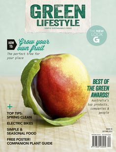 The first issue of Green Lifestyle magazine in Oct/Nov 2012 - issue #40 as it's the recent reinvention of G Magazine.