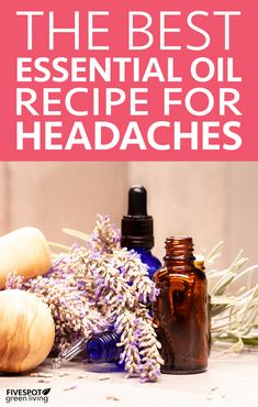 From stress to hormonal surges to allergies to dehydration to low blood sugar, headaches can make an appearance when we least expect it. This Essential Oil Recipe for Headaches is an amazing natural remedy! #essentialoils #headache #homeremedies #naturalremedies
