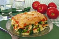 Receita de lasanha de brócolis e queijo