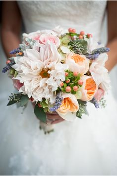 Blush, Pink, Peach, and Green! / A Sacramento Wedding from 2Chic Events & Designs / Stout Photography via StyleUnveiled.com