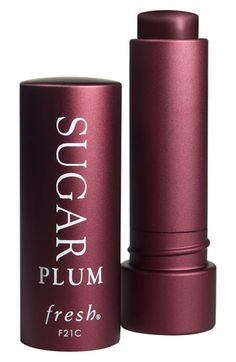 Shop Fresh Sugar Plum Tinted Lip Treatment Sunscreen SPF 15 Lip Balm at Bluemercury. Nourishing tinted lip treatment that moisturizes, provides SPF 15 protection and smoothes while imparting a univers All Things Beauty, Beauty Make Up, Beauty Buy, Top Beauty, Fresh Sugar Lip Treatment, Plum Lips, Soft Lips, Natural Lips, Best Lip Balm