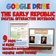 Civil rights movement google drive interactive notebook google early republic american history google drive digital interactive notebook this digital resource features a link to a set of 9 fully editable interactive fandeluxe Image collections
