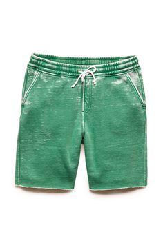 Burnout Fleece Shorts   21 MEN #21Men