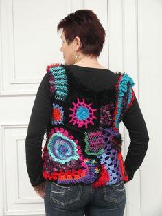 Freeform crochet,it's a bit crazy, but I like it.