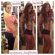 Transformation Clean Eating Fit Healthy Lifestyle weightlifting New Year resolution saraheevans_livingfitnclean (Sarah e.) @ Instagram - 5th village