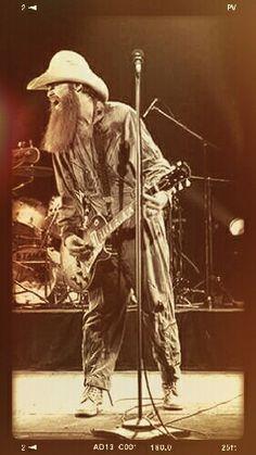 Classic Blues, Classic Rock, Frank Beard, Arena Rock, Billy Gibbons, Zz Top, Great Beards, Rock Artists, Rock Legends