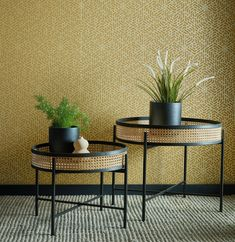 Yellow in décor is happy and chic! Yellow wallpaper dresses your home in sunny hues of optimism, providing an unexpectedly stylish compliment to white, neutrals, wood, and other colors. Under The Tuscan Sun, Wallpaper Direct, Hexagon Shape, True Colors, Interior Styling, Wall Decor, Furniture, Optimism, Design