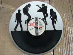 Repurposed recycled Vinyl Record   Michael Jackson by ReSpinIt, $45.00