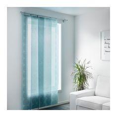 alternative to master closet door // LILLERÖD Panel curtain  - IKEA