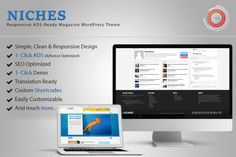 Niches - ADS-Ready WordPress Theme by Outline Technologies on @creativemarket