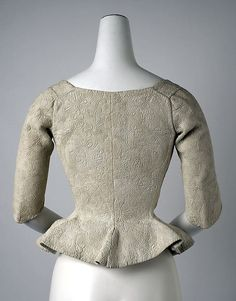 Bodice Date: 18th century Culture: American or European Accession Number: C.I.39.13.45