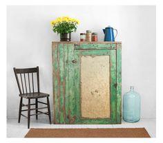 Vintage Wood Jam Cupboard