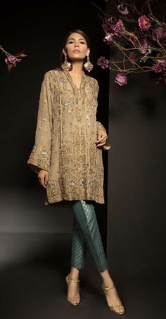 Al Haram Mysoori Dresses - Embroidered Mysoori Dupatta - Replica - Unstitched Pakistani Formal Dresses, Pakistani Dress Design, Pakistani Outfits, Indian Dresses, Indian Outfits, Latest Pakistani Fashion, Asian Fashion, Look Fashion, Indian Designer Outfits