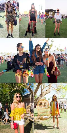 Looks Coachella 2016