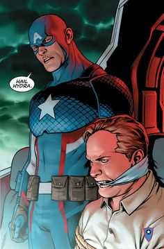 Marvel's Nick Spencer, Tom Brevoort talk making Captain America a Hydra plant
