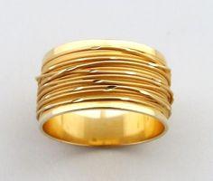 Gouden ring - fantasy Atelier Christian