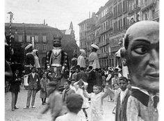 Iruñea 1916 ko Sanferminak, Gaztelu plazan.