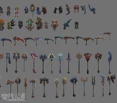darksiders 2 weapons