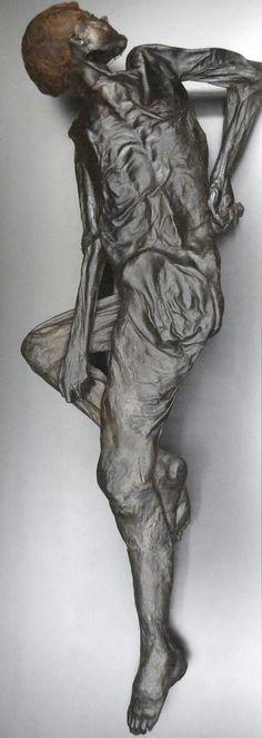 The Grauballe Man, bog mummy was found on the 26th of April 1952, near the village of Grauballe, Denmark.