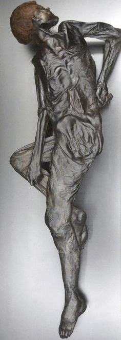 The Grauballe Man, bog mummy was found on the 26th of April 1952, near the village of Grauballe, Denmark.