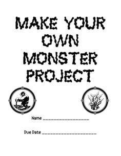 Fun Fun Fun Make Your Own Monster Project