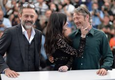 Jeffrey Dean Morgan, Eva Green and Mads Mikkelsen at The Salvation Cannes Film Festival Photocall