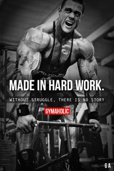 Made In Hard Work.