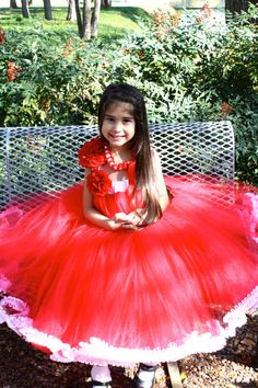 Beautiful Red Tutu Dress by FabTutus any size and by FabTutus, $98.00