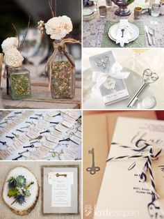 Key Wedding Theme | Wedding | Pinterest | Key, Weddings and Wedding