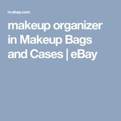 makeup organizer in Makeup Bags and Cases | eBay