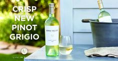 Who has seen our new #PinotGrigio? Available in select stores just in time for summer refreshment! #EdnaValley #EdnaValleyWines