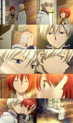 Zen and shirayuki KISS ep 10