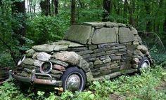 VW rocks beetle #Beetle, #Rock, #Sculpture