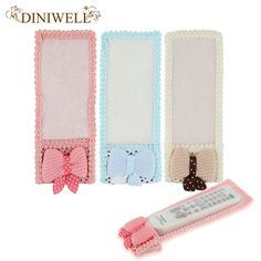 DINIWELL Bowknot Lace Remote Control Dustproof Case Cover Cute Decoration Bags TV Control Protector Organizer Storage