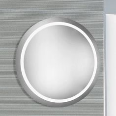 Found it at AllModern - LED Electric Round Mirror