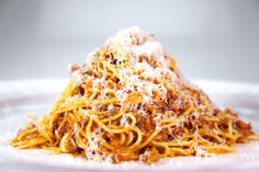 Spaghetti Bolognese by Clinton Kelly - Ground pork, beef, and tomato sauce make for a family friendly Italian classic