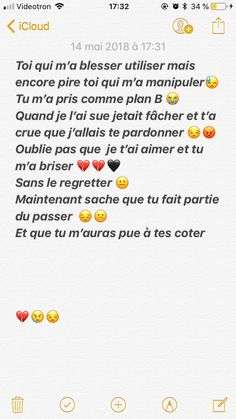 Poème  ❤ Text Quotes, Love Quotes, French Quotes, Sweet Words, True Facts, Messages, Dire, Feelings, Goals