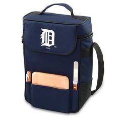 Detroit Tigers 2 Bottle Wine Tote Cooler Bag